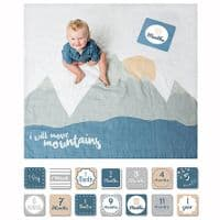 Lulujo Milestone Blankets - 3 options - SALE